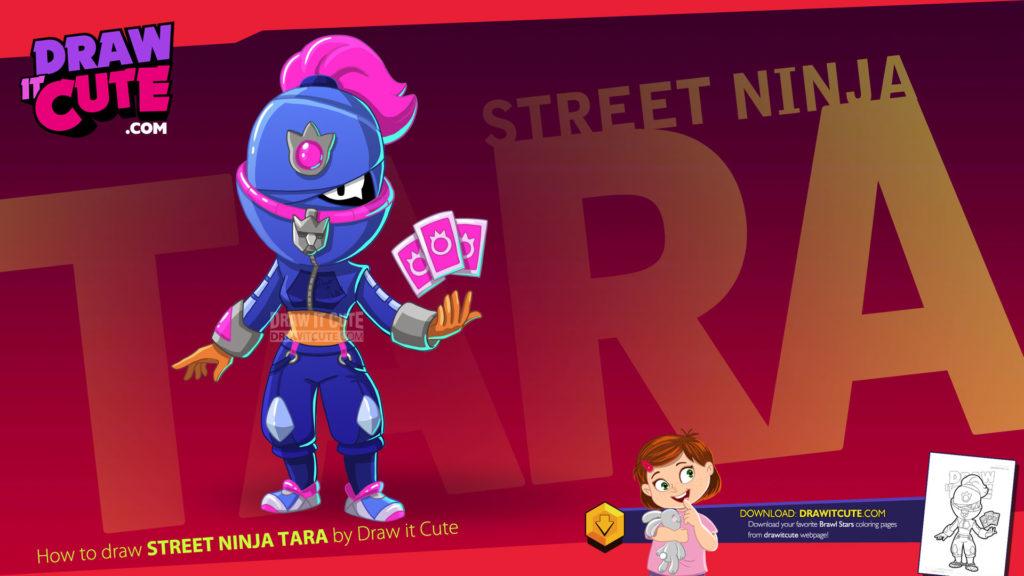 Nowy skin Street Ninja Tara, zadymiarz, skórki brawlstars
